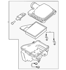 Genuine Ford Air Cleaner Assembly BR3Z-9600-D