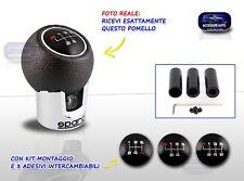 Pomello Cambio GRANDE PUNTO Universale leva marce auto kit tuning per 1 FIAT set