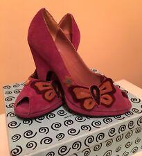 Bertie Peep Toe Shoes 6