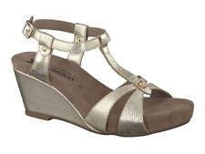 Ladies' Wedge Casual Sandal Mephisto Briana Gold EU Size 40