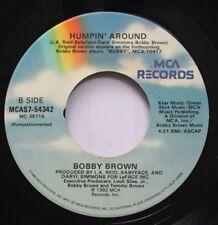 Hip Hop 45 Bobby Brown - Humpin' Around / Humpin' Around On Mca Records