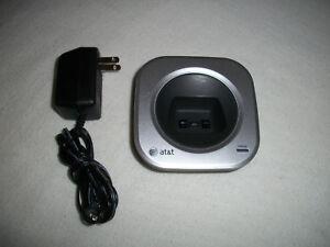 AT&T SL82408 Charging Dock Cradle w/AC Power Supply - SL82208 SL82308 SL82408