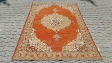 Oushak 7x10 Turkish Rug,turkish Kilim,anatolian rug,Vintage Bohemian 83.8x120inc