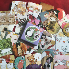1 box 46 PCS beautiful cat Craft Scrapbooking diary sealing paper sticker