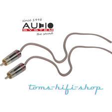 RCA HI High-Low-Adapter-Kabel Cinch für Audio System Verstärker Auto Endstufe
