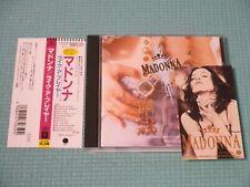 MADONNA CD Like A Prayer w/ Mini Sticker 1989 OOP Japan 22P2-2650 OBI