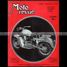 MOTO REVUE N°1166 NOUGIER 175 4 CYLINDRES DOT SCRAMBLE MONDIAL 160 SALON 1953