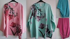 Floral Plus Size 100% Cotton Sleepwear for Women
