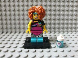 Lego Figur Serie 17 FITNESS- / AEROBICTRAINERIN  Sammelfigur 71018