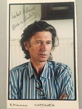 Autographe original Photo dédicacée Étienne Chatiliez Cinéma Francais
