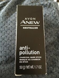 Avon Anew Neutralize anti-pollution charcoal mask
