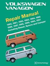 VW TRANSPORTER T3 VANAGON SYNCRO CAMPER Owners Service Repair Manual Handbook