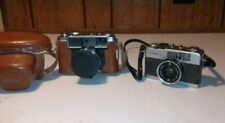 Two old Yashica film cameras lynx 1000 & 35 Me.