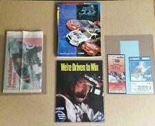 Dale Earnhardt 2001 Daytona 500 program hot pass ticket Nascar last ride