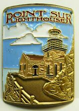Point Sur Lighthouse new badge mount stocknagel hiking medallion G0166