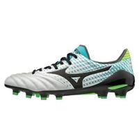 Mizuno Morelia NEO 2 MD Men's Soccer Shoes White Blue Football P1GA195309