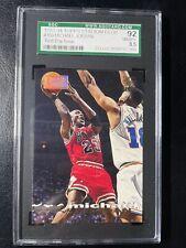 Michael Jordan 1993 First Day Issue Stadium Club 169 SGC 8.5