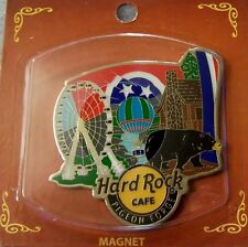 HARD ROCK CAFE PIGEON FORGE ALTERNATIVE CITY MAGNET - NEW