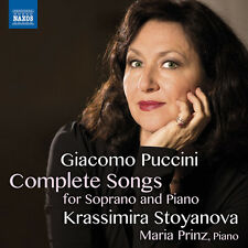 Puccini / Stoyanova - Giacomo Puccini: Complete Songs for Soprano & Piano [New C
