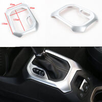 Silver Auto Car Gear Trim Frame For Jeep Renegade 2015-2016 Interior Accessories