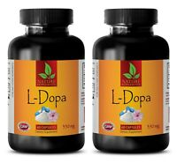 L-dopa bulk - L-DOPA MUCUNA EXTRACT 99% 350mg sexuales stamina pills 2 Bottles