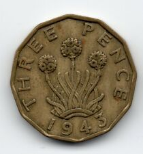 Great Britain - Engeland - 3 Pence 1943