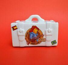 Reutter Paddington Bear White Porcelain Suitcase Trunk Bank 50th Aniversary