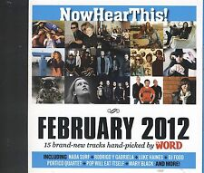 Now Hear This February 2012 cd