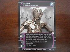 Star Wars TCG ROTS 4x C-3PO (I)