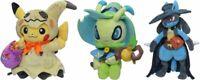 Pokemon Center Plush Doll Halloween Festival! 2019 Pikachu & Celebi & Lucario
