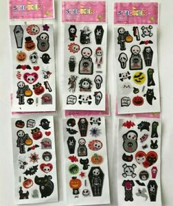10 Sheets Stickers Puffy 3D Scrapbooking Fitter Loot Bags Crafts  Halloween