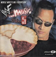 WORLD WRESTLING FEDERATION THE MUSIC Vol 5 CD
