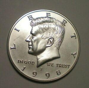 1998 S MATTE PROOF KENNEDY HALF DOLLAR