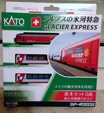 Ferromodellismo dinamico: Glacier Express Kato articolo 10-1145