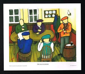 The Back Room/Music/Pub/N/Irish Art Group/Fine Print/Martin Laverty/Ireland/New