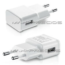 CARGADOR 2A 2000MAH RED CASA PARED USB SAMSUNG GALAXY S6 S5 S4 S3 BLANCO