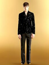 $4300 NEW Gucci Runway Velvet Floral Dandy Evening Jacket EU 52/US 42, 298635