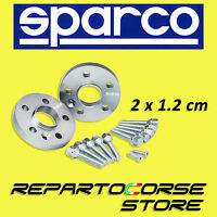 SPARCO WHEEL SPACERS KIT - 2 x 12mm - WITH BOLTS - FIAT 500 ABARTH - 4x98 - 58