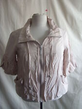 Ladies Jacket/coat - River Island, size 10/36, beigey/peach, soft, summer - 1989