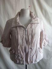 Ladies Jacket/coat - River Island, size 10/36, beigey/peach, soft, summer - 1989