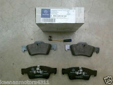 Genuine OEM Mercedes Benz M Class W164 ML Rear Brake Pad Set with Sensor