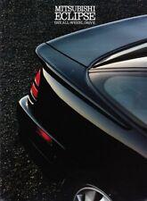1990 90 Mitsubishi Eclipse GSX original brochure MINT