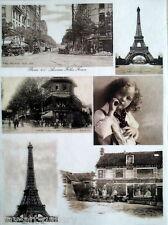 RICE DECOUPAGE PAPER / PARIS 4 / CRAFT PAPER / DECOUPAGE SHEETS / SCRAPBOOKING