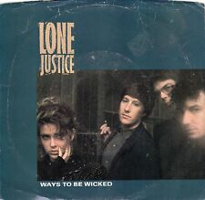 Lone Justice-Ways to Be Wicked (Mint) Promo-PS