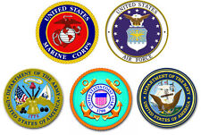 """Branch of Service 5.5"""" Combo Pack of Decals / Stickers"""