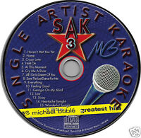 Michael Buble Karaoke CDG Brand NEW 16 Songs HAVEN'T MET YOU YET Home CRAZY LOVE