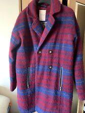 Women's Trendy Next Purple/Blue Wool Warm Winter Jacket Coat