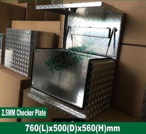 Heavy Duty Generator ToolBox 76x50x56 cm Aluminium Caravan Ute TruckTool box