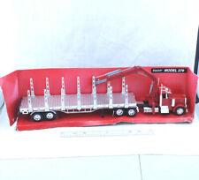 Peterbilt Longhauler Collection Model 379 New Ray Logging Truck Cherry Picker