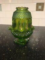 Westmoreland? Glass Lime Green Carnival Fairy Light